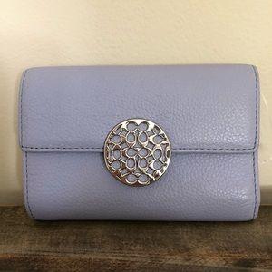 "COACH | Blue Leather Wallet - Size 6"" x 4"""